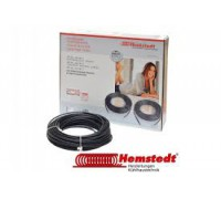 Тонкий нагревательный кабель Hemstedt DR 12м 150Вт