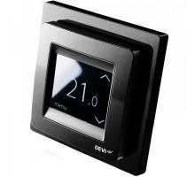 Терморегулятор Devireg Touch Black купить по лучшей цене. Доставка. Монтаж. Гарантия. Купить электрический теплый пол в Киеве. Теплые полы цена. Купить Терморегуляторы для теплого пола Devi цена