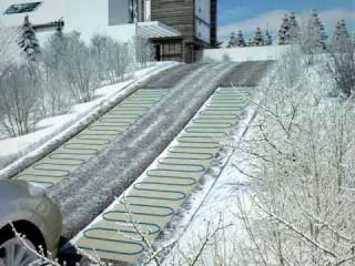 Система снеготаяния Купить теплый пол в Киеве. Теплые полы цена