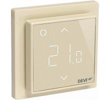 Терморегулятор DEVIreg Smart Ivory Wi-Fi купить по лучшей цене. Доставка. Монтаж. Гарантия. Купить электрический теплый пол в Киеве. Теплые полы цена. Купить Терморегуляторы для теплого пола Devi цена