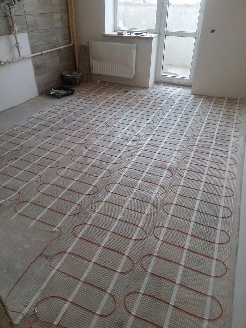 електрична тепла підлога київ